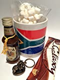 South African Mug with Hot Chocolate and Amarula Cream Liqueur
