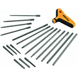 BOSTITCH BTHT72274 Non-Ratcheting T-Handle Set, 21-Piece