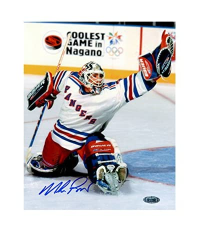 Steiner Sports Memorabilia Mike Richter Glove Save Signed Photo