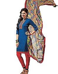 Indiweaves Summer Wear Cotton Salwar Suit Dress Material