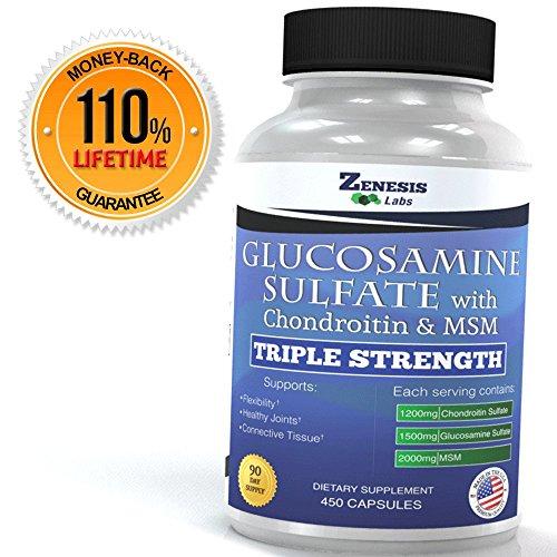 MEILLEUR sulfate de glucosamine, chondroïtine,