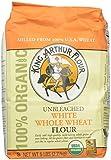 King Arthur Flour 100%s Organic Unbleached White Whole Wheat Flour, 5 Pound