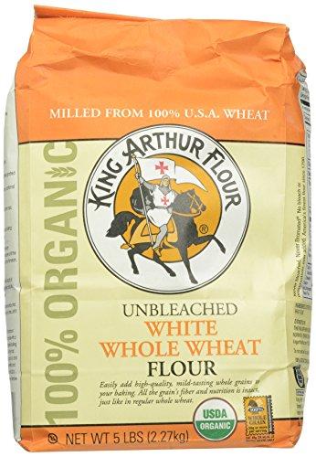 Unbleached white whole wheat flour