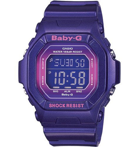 Baby-G World Time Digital Purple Dial Women's watch #BG5600SA-6