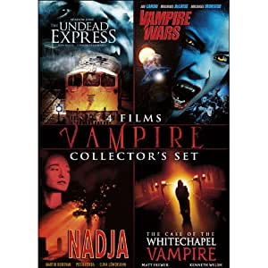 Vampires Collector's Set (The Undead Express / Vampire Wars / Nadja / The Case of the White Chapel Vampire)