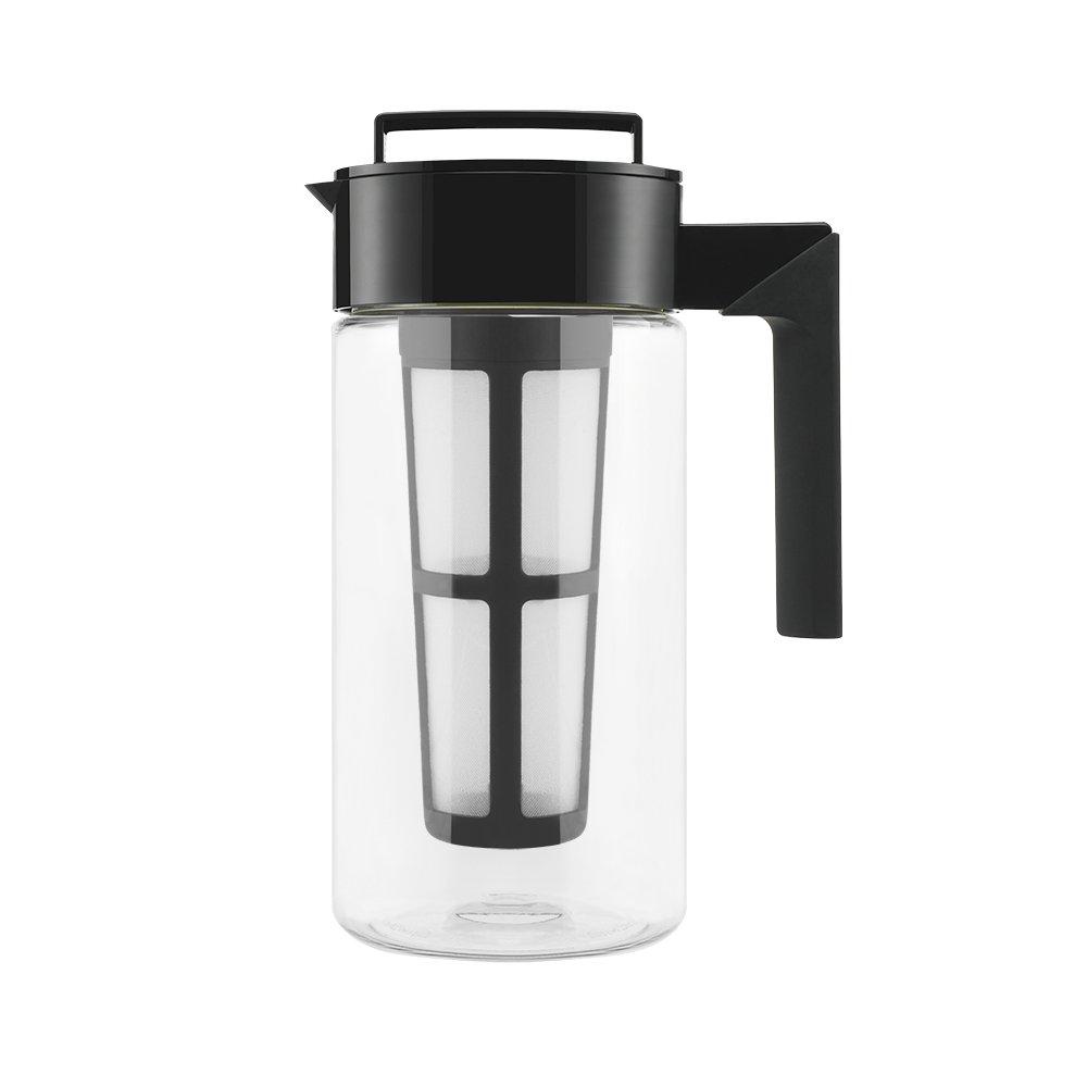 Takeya Cold Brew Iced Coffee Maker, 1-Quart, Black