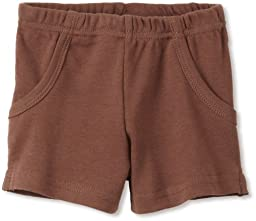L'ovedbaby Unisex baby Short, Out on the town Brown, 12 24 Months