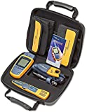 Fluke Networks MS2-TTK MicroScanner2 Network Cable Tester Kit with Punch Down Tool and Tone Generator and Probe