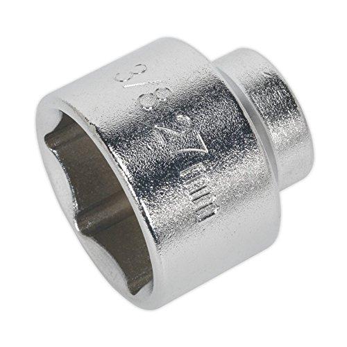 Sealey Low Profile Oil Filter Socket 27Mm 3/8Sq Drive (Tamaño: 27Mm)
