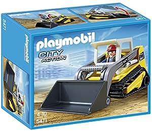 Playmobil - 5471 - Figurine - Chargeuse À Chaînes Avec Pelle
