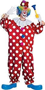 Dotted Clown - Adult Fancy Dress Costume