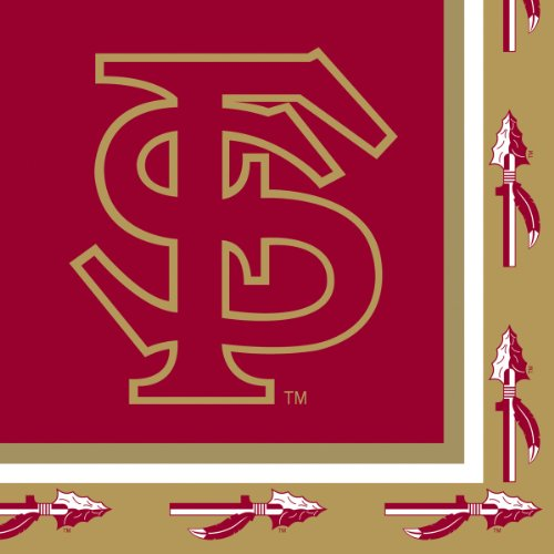 Creative Converting Florida State Seminoles Luncheon Napkins (20 Count)
