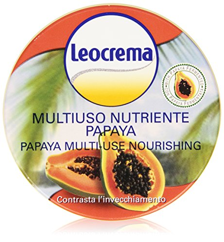 Leocrema - Crema, Multiuso, Nutriente, Papaya -  150 ml