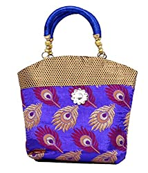 Kuber Industries Women's Mini Handbag 10*10 Inches (Purple)