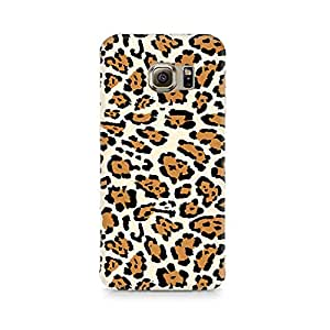 Mobicture Leopard Print Premium Printed Case For Samsung S6 Edge G9250