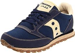 Saucony Originals Men\'s Jazz Low Pro Vegan Sneaker,Navy,10.5 M US