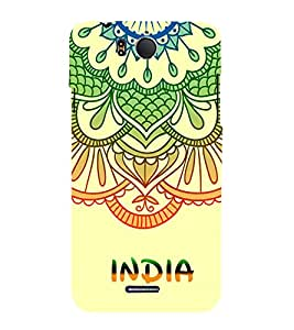 India is Great 3D Hard Polycarbonate Designer Back Case Cover for InFocus M530