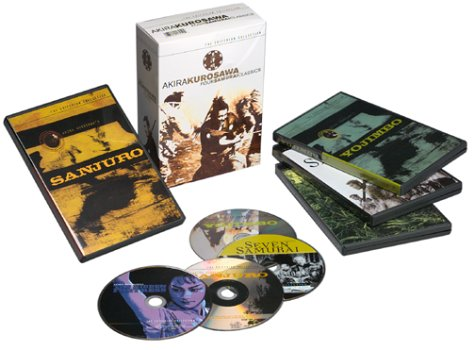 Akira Kurosawa: Four Samurai Classics (Seven Samurai / The Hidden Fortress / Yojimbo / Sanjuro) (The Criterion Collection)