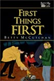 First Things First (Berryville Girls Series)