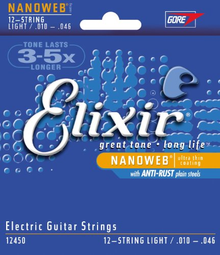 Elixir® Strings Electric Guitar Strings With Nanoweb® Coating