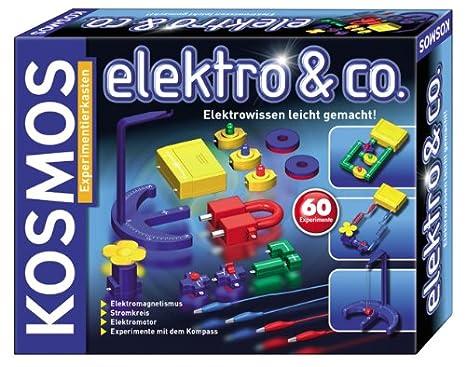 Kosmos - 627218 - Jeu éducatif Elektro & co. - L'électronique en toute simplicité - Langue : allemande