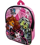 Kids Boys Girls Character Backpack Rucksack School Bag (Monster High)
