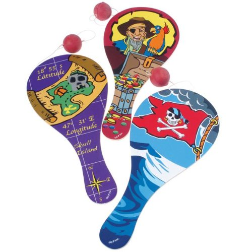 Pirate Paddle Balls