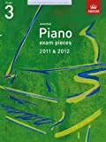 * OLD * ABRSM Selected Piano Exam Pieces 2011 - 2012 Grade 3