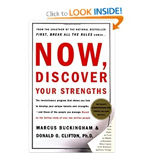 now discover your strengths achiever,