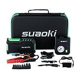 Suaoki G7 600A Peak 18000mAh Portable Car Jump Starter...