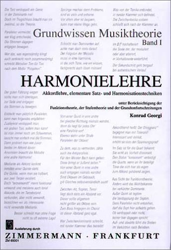 Harmonielehre 1: Grundwissen Musiktheorie. Akkordlehre, elementare Satz- und Harmonisationstechniken