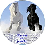 Tortenaufleger Pferde 042