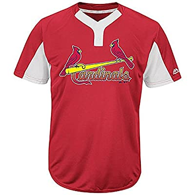 St. Louis Cardinals MLB 2-Button Colorblocked Jersey