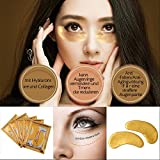 Greencolourful 5 Paar Golden Eye Collagen Augen Maske