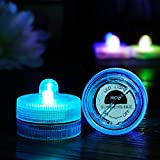 Sellify Pink : Flameless Tea Light Candle LED Electronic Candle Light Wedding Party Decor Submersible Waterproof...