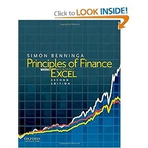 Principles of Finance with Excel: Includes CD Simon Benninga
