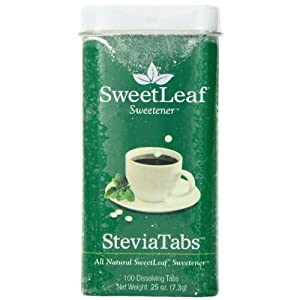 Sweetleaf Steviatabs Stevia Extract Tablets, 0.35 Ounce
