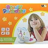 Shopaholic Study Paradise Apple Shaped Toy Laptop For Kids - 8688-B
