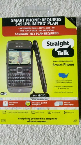 Link to Nokia E71 (Straight Talk) Gray Promo Offer