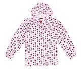 Ladies XL Red & Pink Spot Waterproof, Windproof, Breathable Dotty Spotty Jacket Size 18