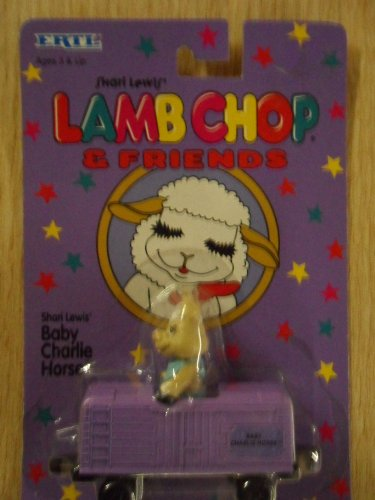 Shari Lewis' Lamb Chop & Friends - Baby Charlie Horse in Box Car