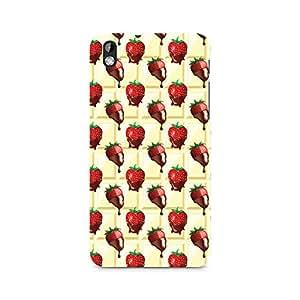 Ebby Strawberry Dip Premium Printed Case For HTC Desire 816