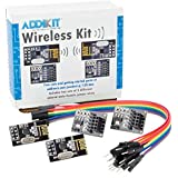 Addicore nRF24L01+ Wireless AddiKit with Socket Adapter Boards and Jumper Wires