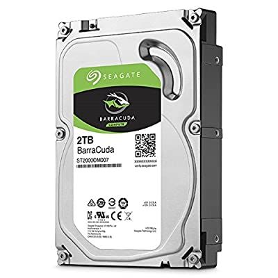 "Seagate Barracuda 2TB SATA 6Gb/s 64MB Cache 3.5"" Internal Bare Drive (ST2000DM006)"