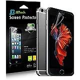 """JETech® 3-Pack Displayschutz für iPhone 6 4.7"""" Schutzfolie Screen Protector stressfreie, Blasenfreie Installation, Anti-Fingerabdruck (HD Klar)"""