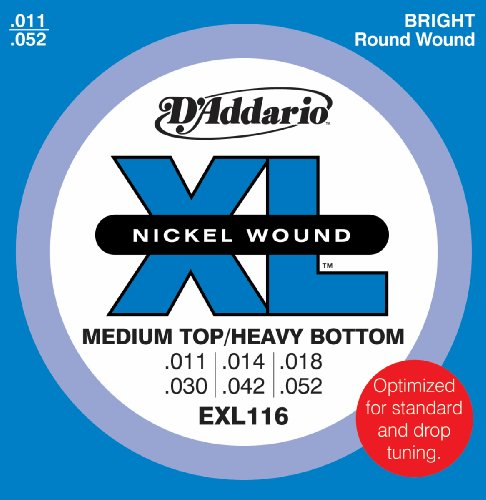 D'Addario EXL116 Nickel Wound Electric Guitar