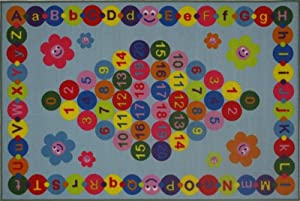 Fun Rugs FT-97 5178 Fun Time Happy Learning from LA Rug Co