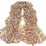Suave para mujer Fashion chal para bufandas de chifón de bufanda de seda/de invierno de punto con casquillo de bayoneta/pañuelo