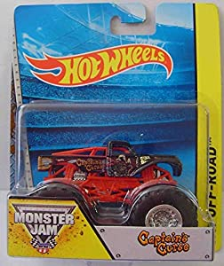 Hot Wheels - Monster Jam - Captains Fluch - MATBHP37.BHP60 -. Mattel