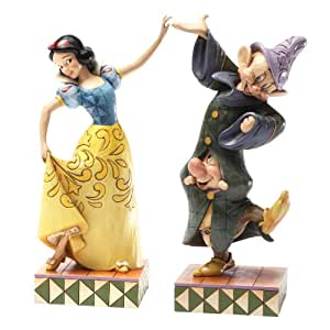Disney Traditions Snow White/ Dopey and Sneezy Figurine